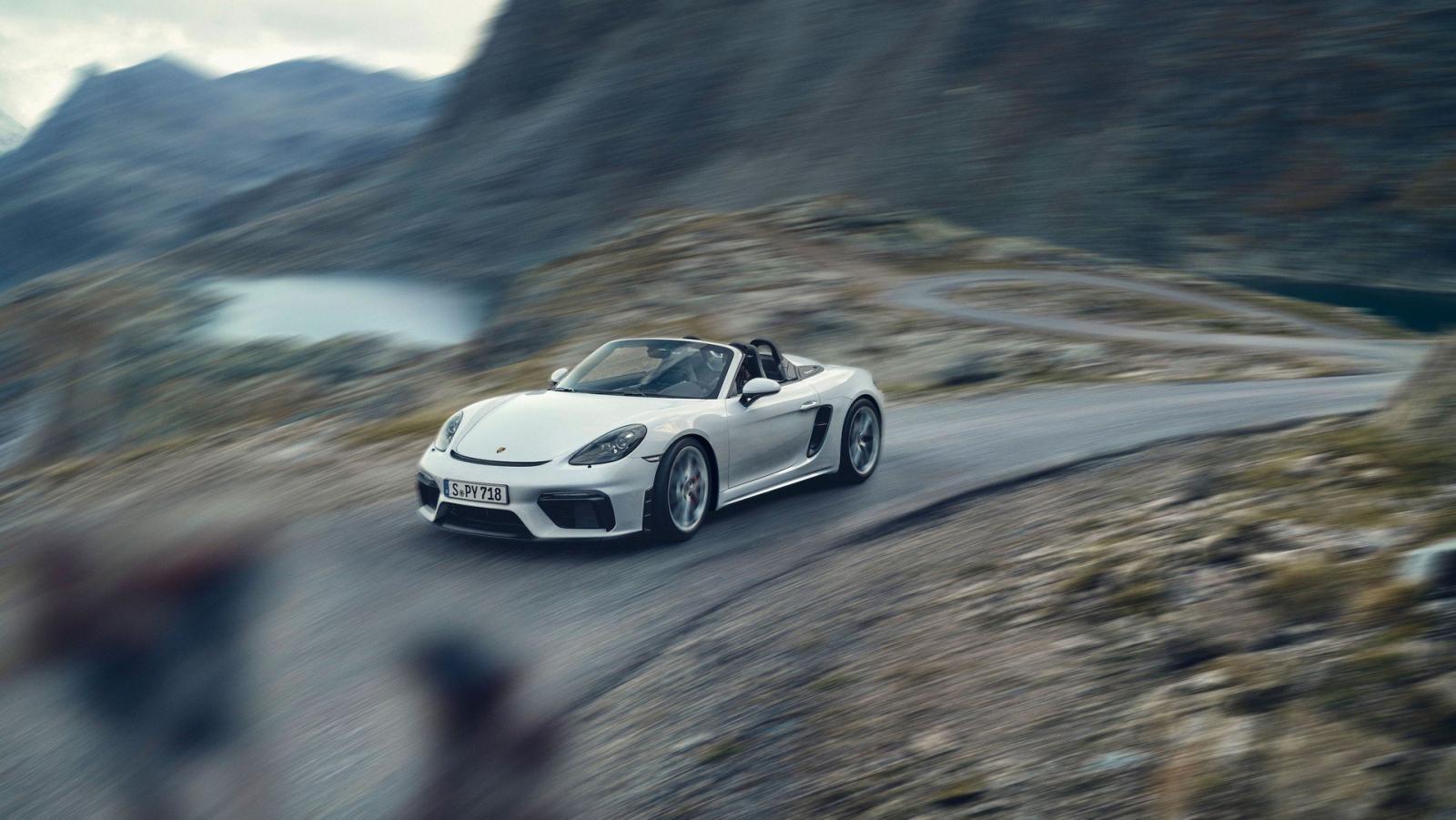 Porsche 718 Boxster Spyder và 718 Cayman GT4 2020 có hệ thống phanh hiệu suất cao