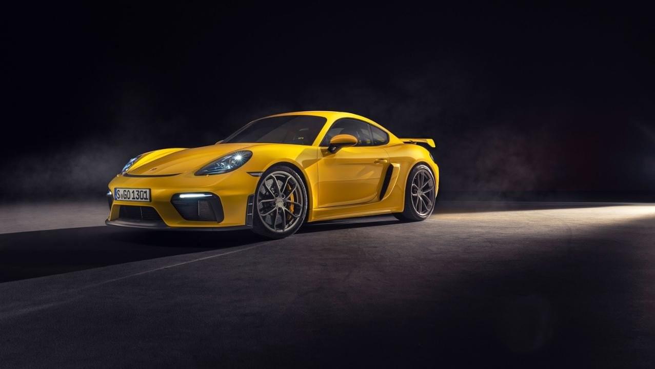 Porsche 718 Cayman GT4 2020 được nâng cấp nhẹ ở đầu xe