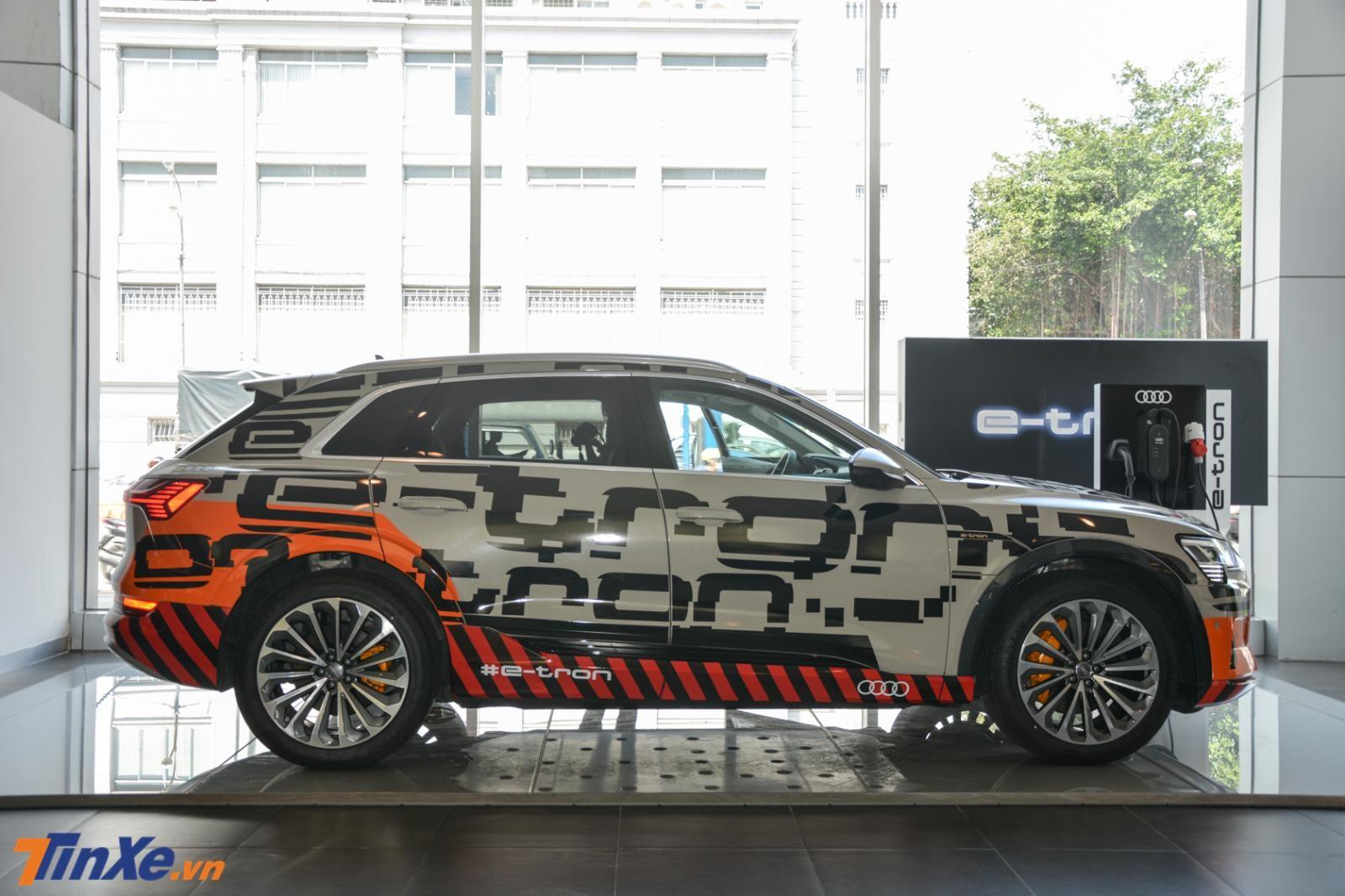 Đây cũng là chiếc xe điện đầu tiên của Audi