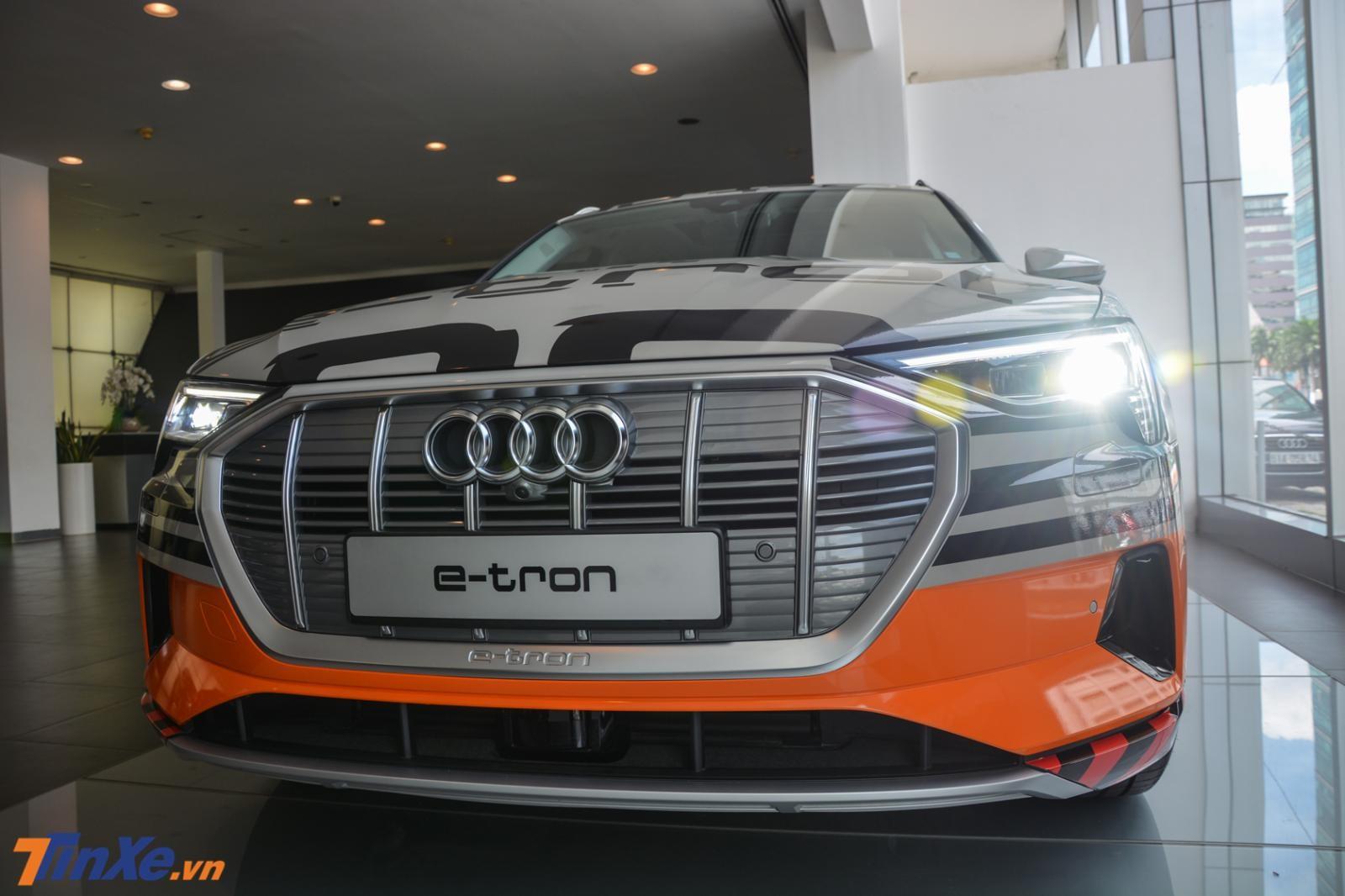 Audi e-tron đã có mặt tại Việt Nam sau hơn nửa năm ra mắt tại Singapore