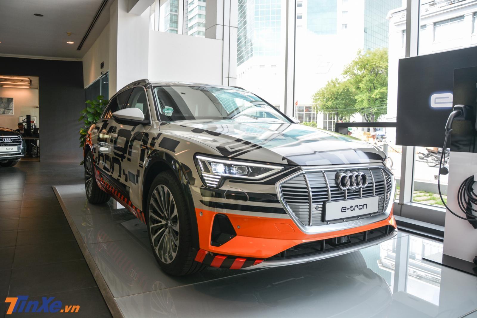 Chiếc Audi e-tron đầu tiên về Việt Nam nhằm thăm dò thị trường