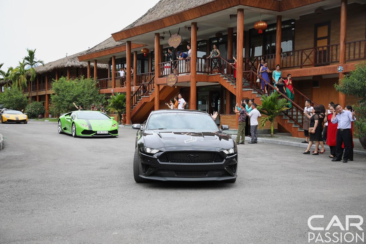 Ford Mustang GT 2019 của một thành viên còn khá trẻ tuổi trong đoàn Car Passion 2019