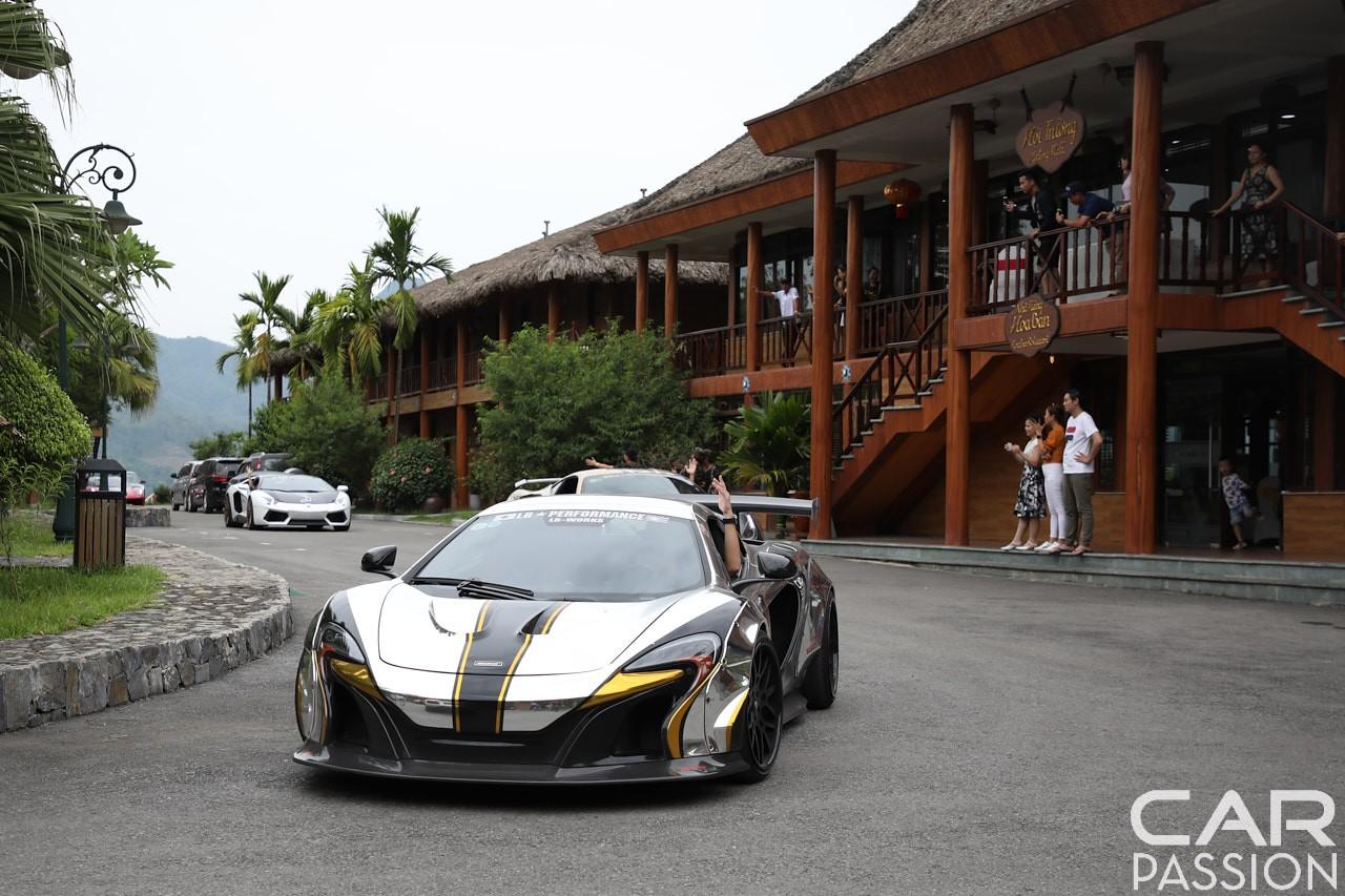 McLaren 650S Spider độ Liberty Walk của chồng siêu mẫu Ngọc Thạch