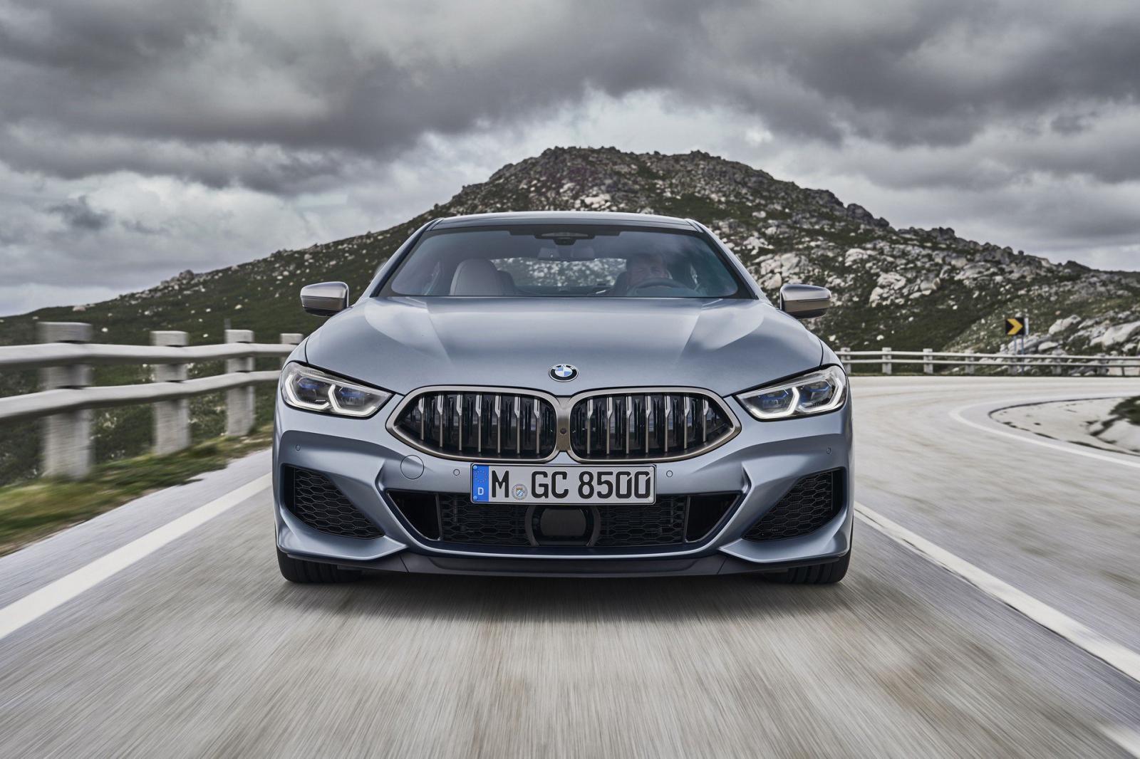 BMW 8-Series Gran Coupe 2020 có thiết kế đầu xe tương tự 8-Series Coupe