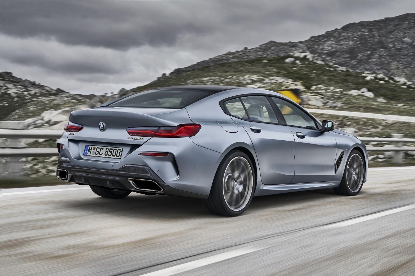 BMW 8-Series Gran Coupe 2020 có kích thước lớn hơn 8-Series Coupe