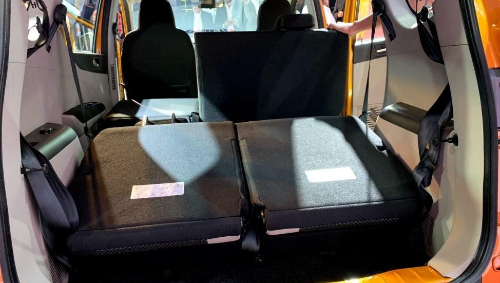 Hàng ghế thứ ba của Renault Triber có thể tháo ra