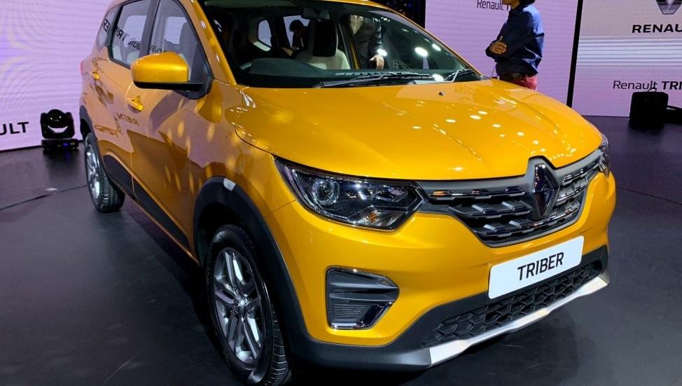 Thiết kế đầu xe của Renault Triber