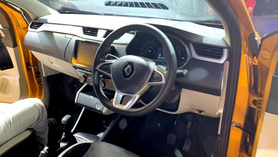 Nội thất bên trong Renault Triber