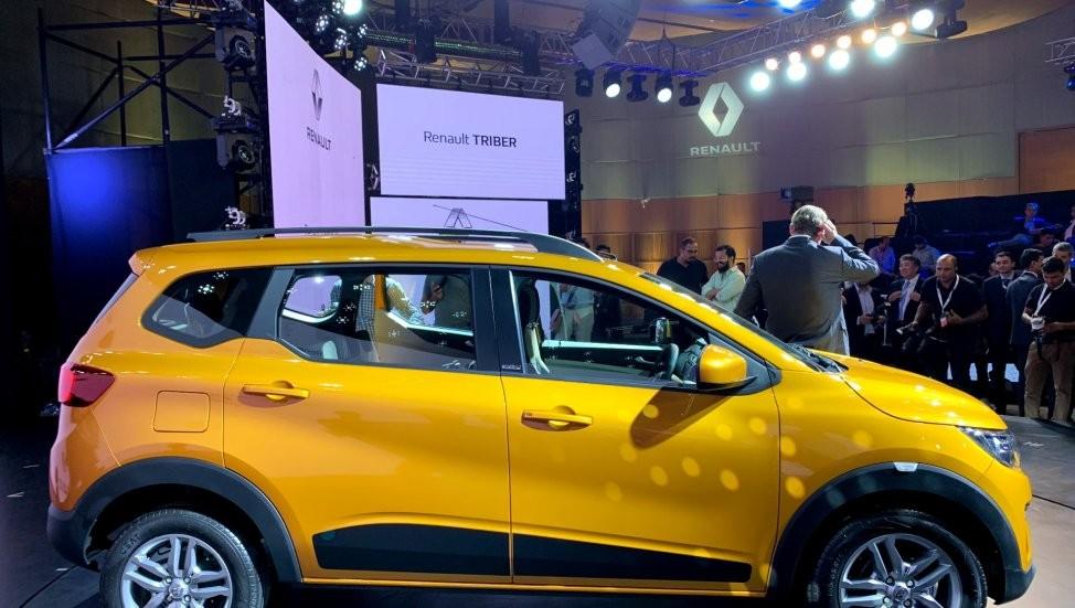 Renault Triber dài chưa đến 4 m