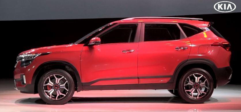 Thiết kế sườn xe của Kia Seltos 2020 khiến nhiều người liên tưởng đến Volvo XC40