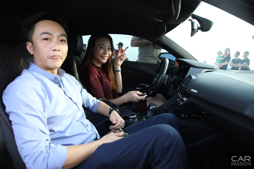 Tài xế đặc biệt của Cường Đô-la trong hành trình Car Passion 2019 chính là chính là Đàm Thu Trang