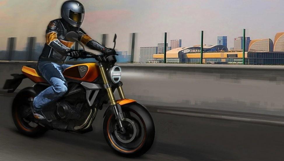 Dù chia sẻ các trang bị từ mẫu TNT 300, mẫu Harley-Davidson 338 vẫn sẽ có thiết kế mang đặc trưng riêng