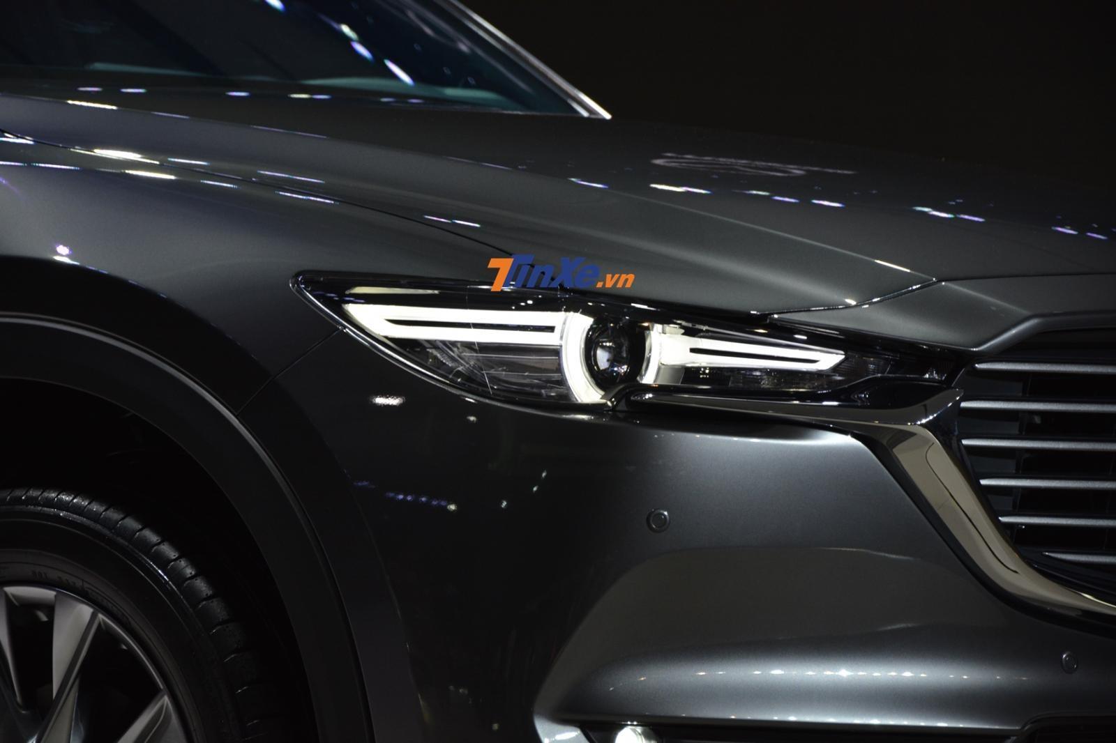 Đèn pha LED của Mazda CX-8