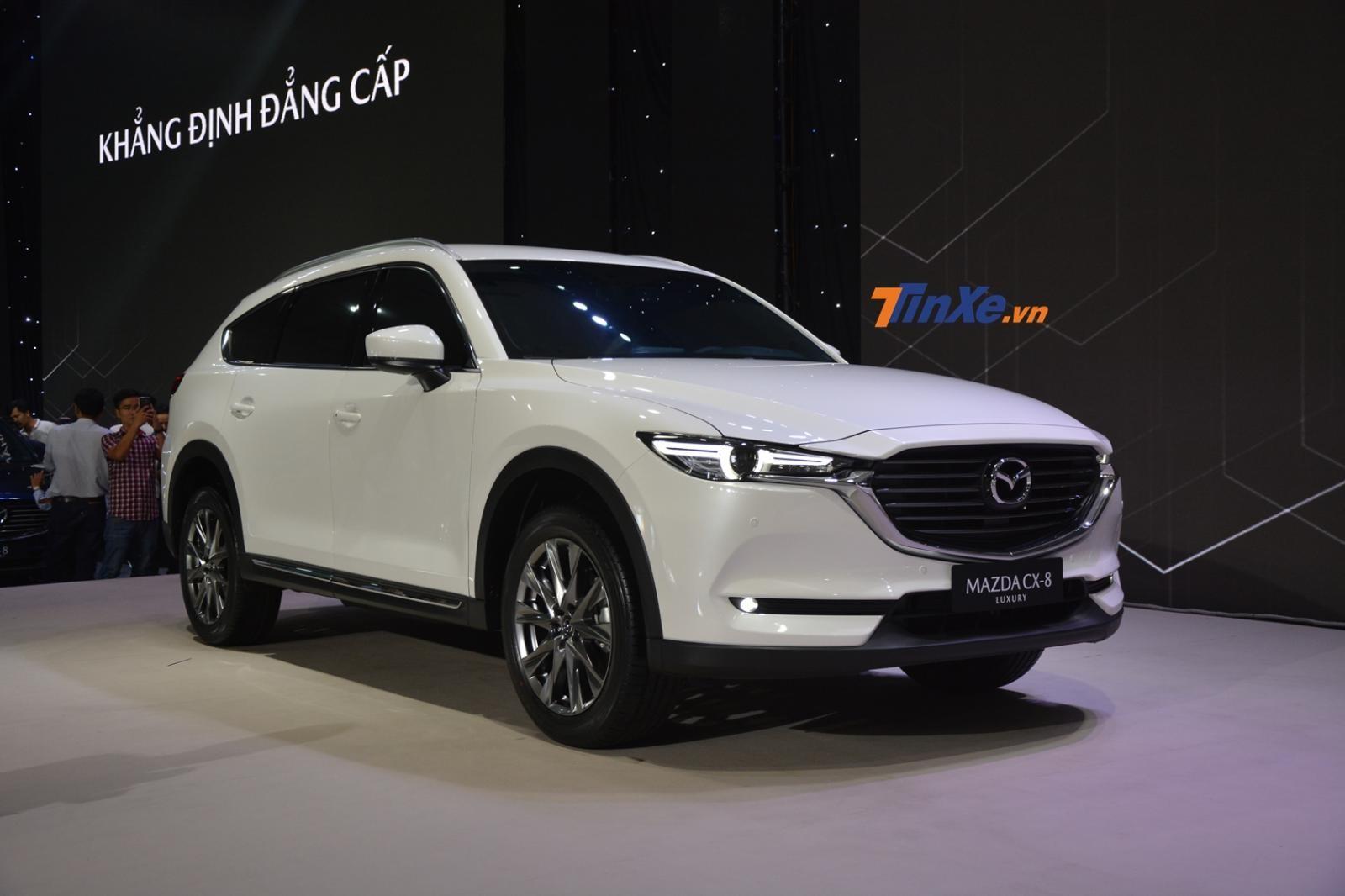 Mazda CX-8 phân phối tại thị trường Việt Nam sử dụng động cơ xăng 2.5 lít
