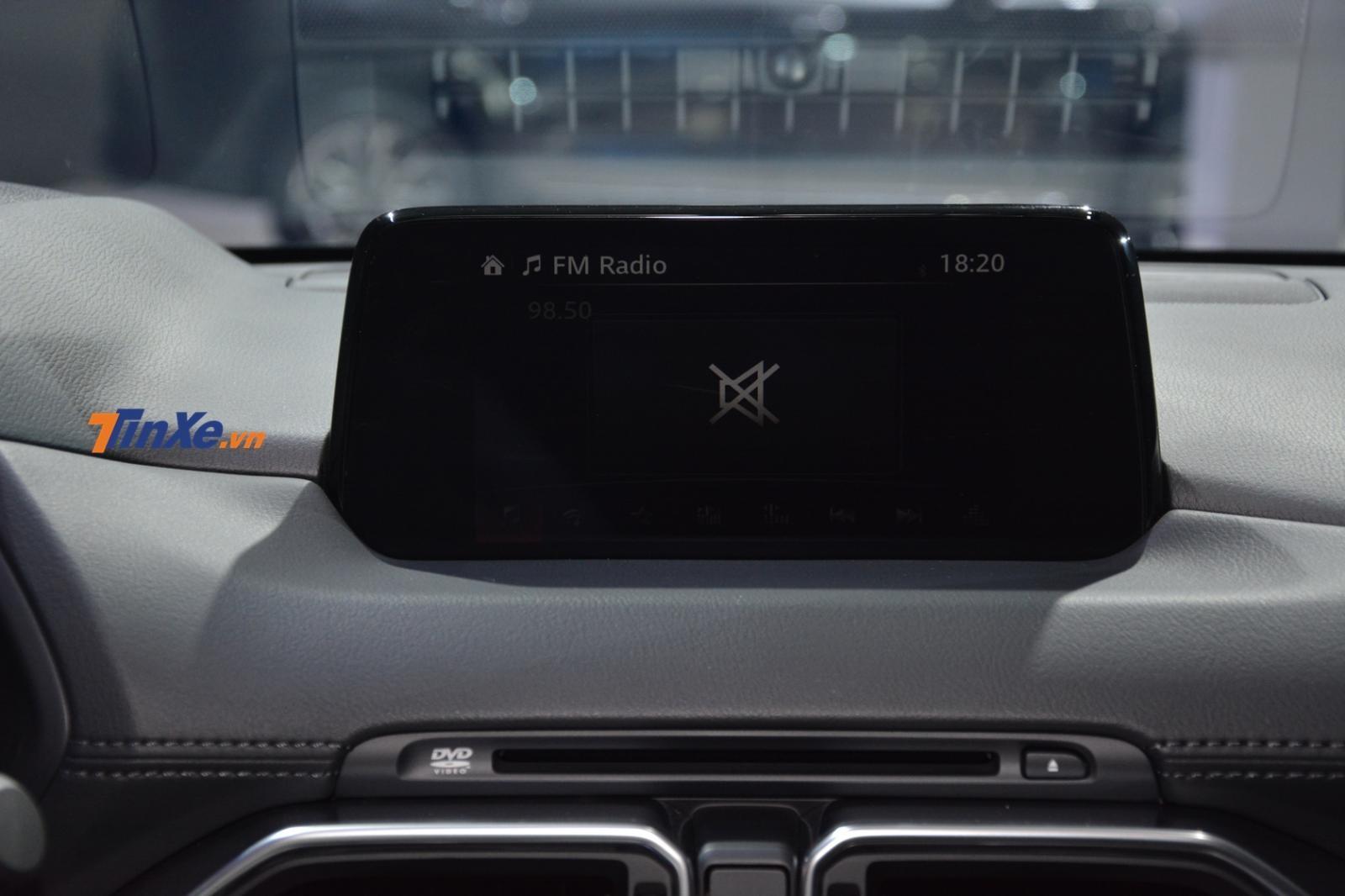 Màn hình cảm ứng 7 inch đi kèm hệ thống Mazda Connect