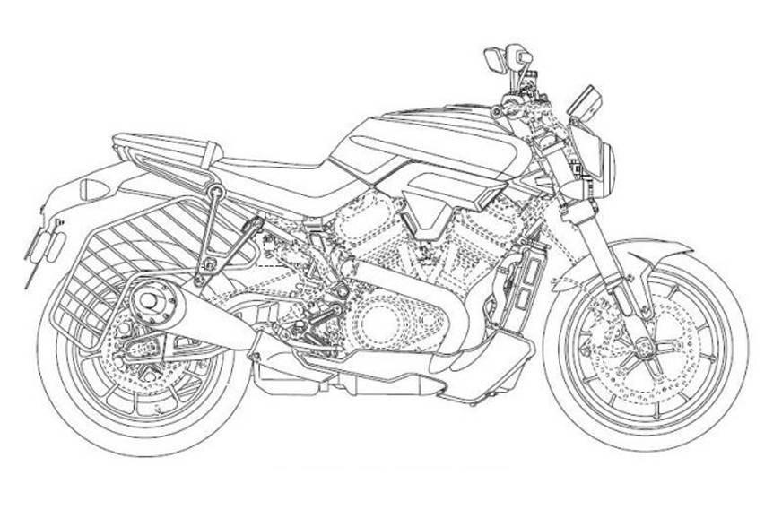 Thiết kế xe mà Harley-Davidson đã đăng ký bản quyền