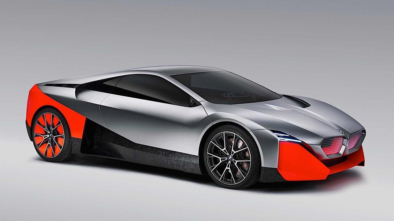 BMW Vision M NEXT là mẫu concept hybrid mới của nhà sản xuất xe Đức