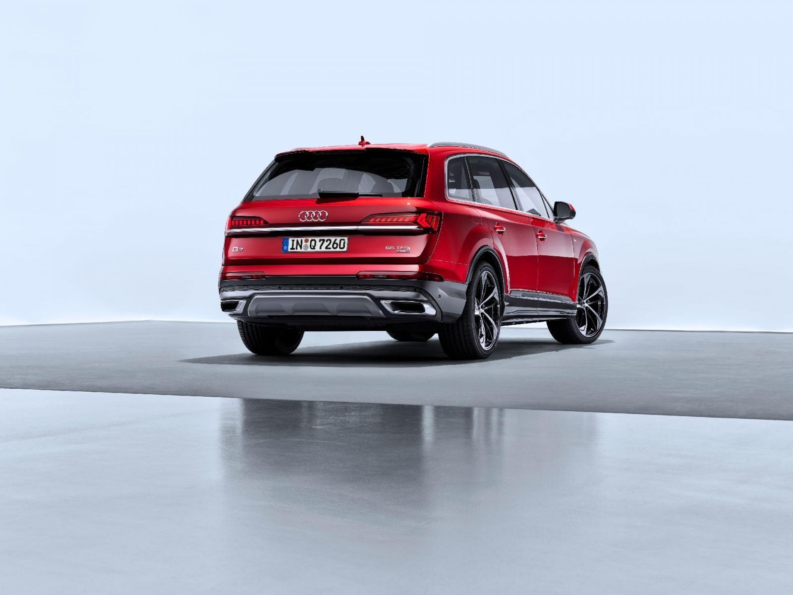 Audi Q7 2020 có 3 tùy chọn động cơ khác nhau