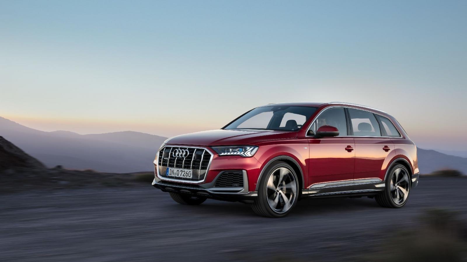 Audi Q7 2020 có nhiều công nghệ hiện đại
