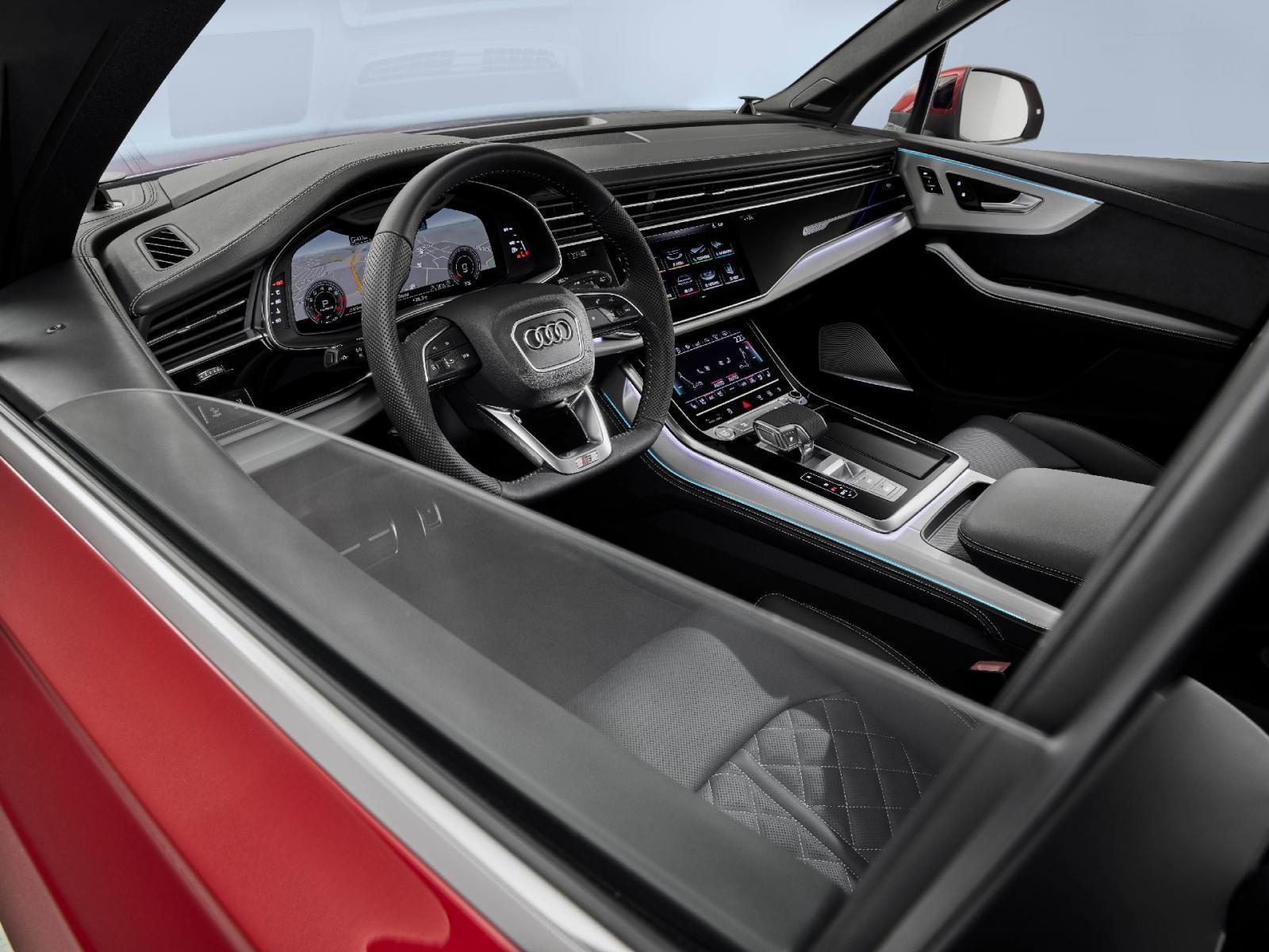 Động cơ của Audi Q7 2020 kết hợp với hộp số tự động 8 cấp