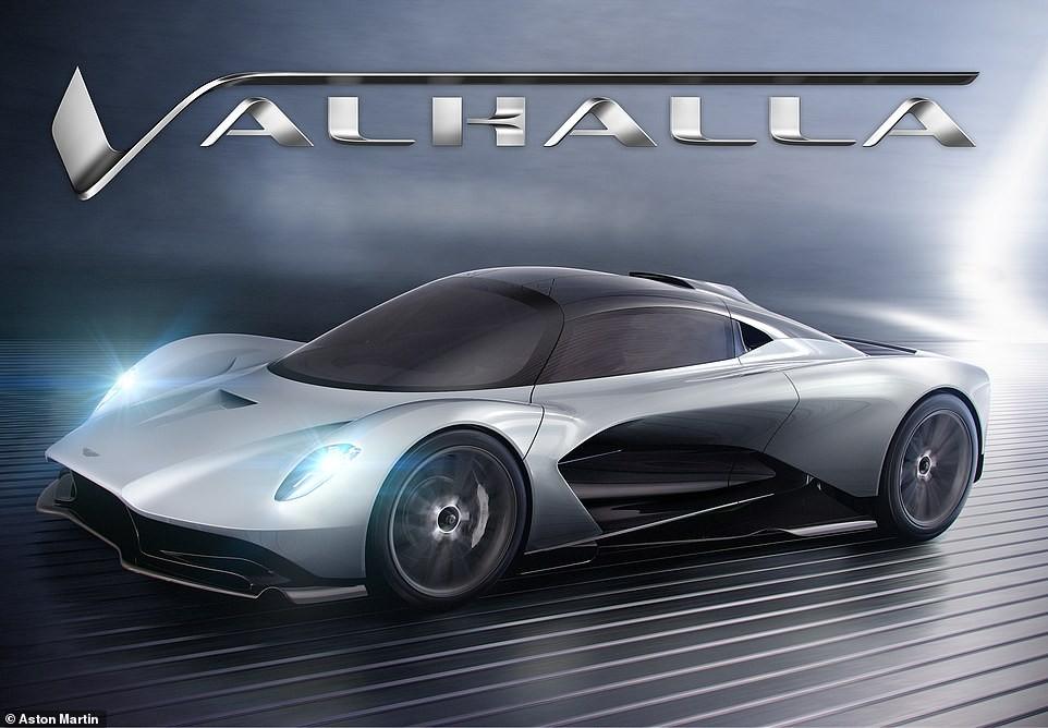 Valhalla là cái tên dành cho hypercar hybrid mới nhất của Aston Martin