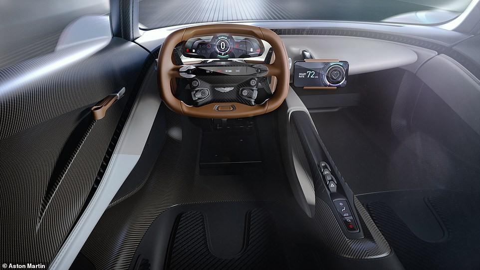 Khoang lái của xe có bố trí tối giản và tân tiến