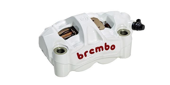 Về cơ bản, những mầu sắc trên M4 của Brembo sẽ giống với bộ màu trên cùm phanh trước đây với 5 tùy chọn
