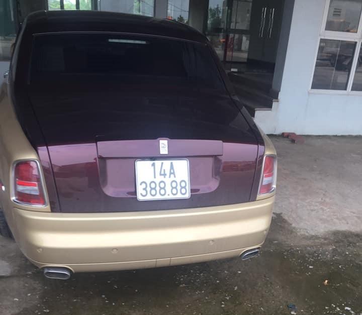 Rolls-Royce Phantom biển tứ quý 8 tại Quảng Ninh