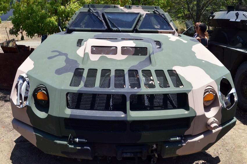 Nguyên mẫu xe HMMWV đời đầu cực hiếm