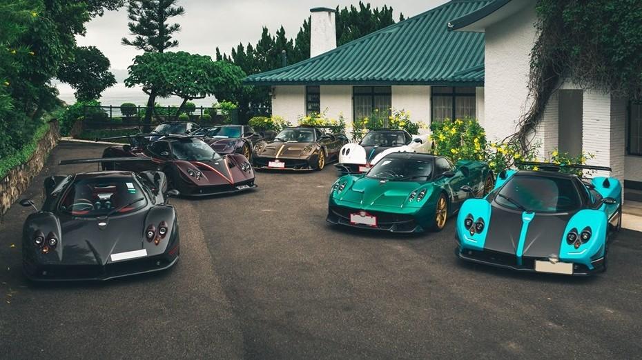Các siêu xe Pagani của đại gia Hồng Kông cũng sẽ góp mặt ở Goodwood 2019