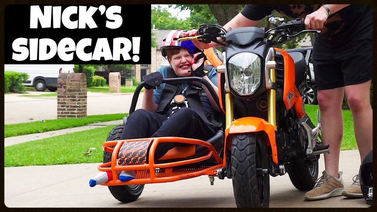 The car was made so that the car owner of the car owner can experience the joy of motorcycles
