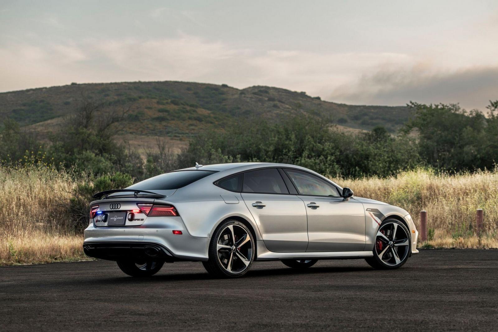 Nó vốn được chế tạo dựa trên một chiếc Audi RS7 Sportback với động cơ độ