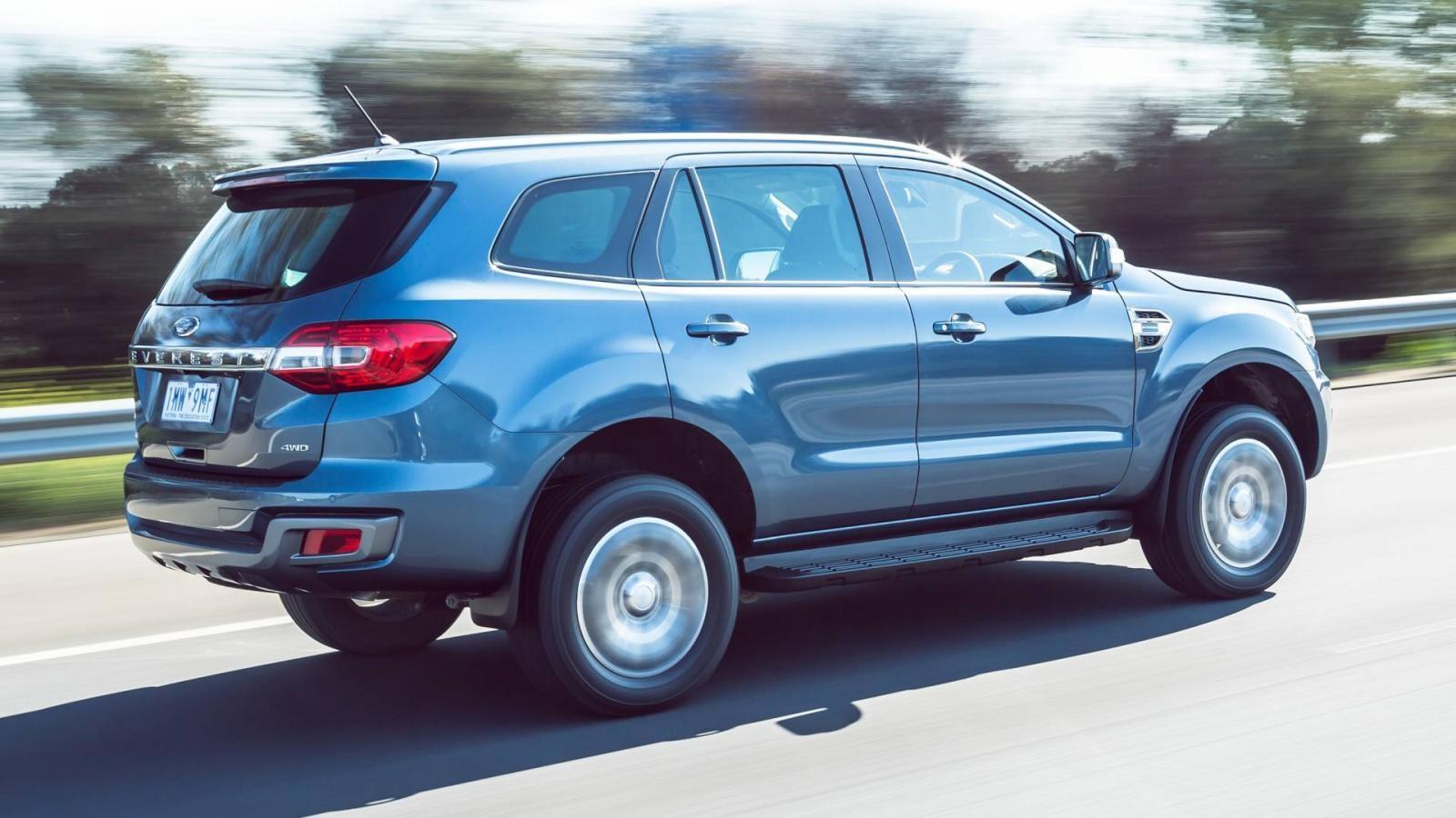 Động cơ và thiết kế của Ford Everest 2019 không thay đổi so với trước