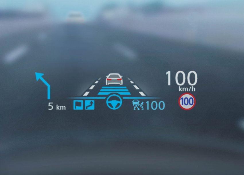Màn hình hiển thị thông tin kính lái mới