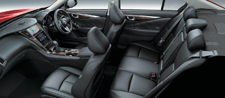 Nội thất bên trong Nissan Skyline 2019