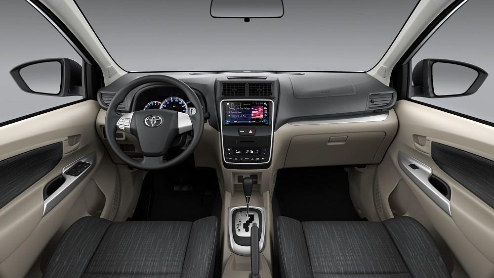 Tổng thể nội thất của Toyota Avanza 2019