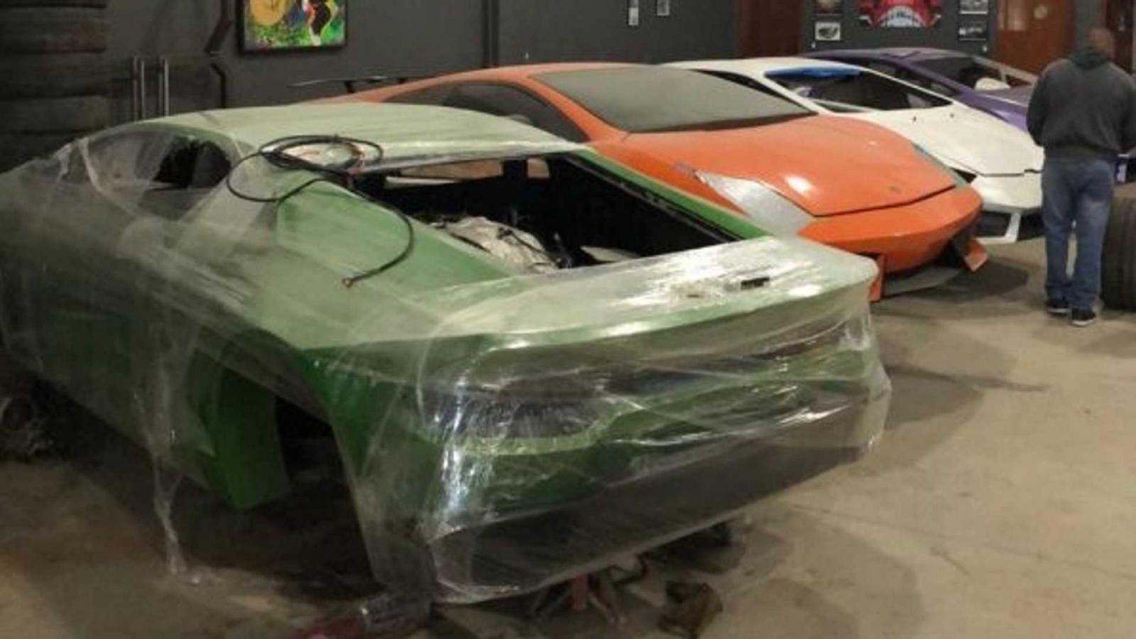 Những chiếc xe Ferrari và Lamborghini nhái này được sản xuất theo đơn đặt hàng