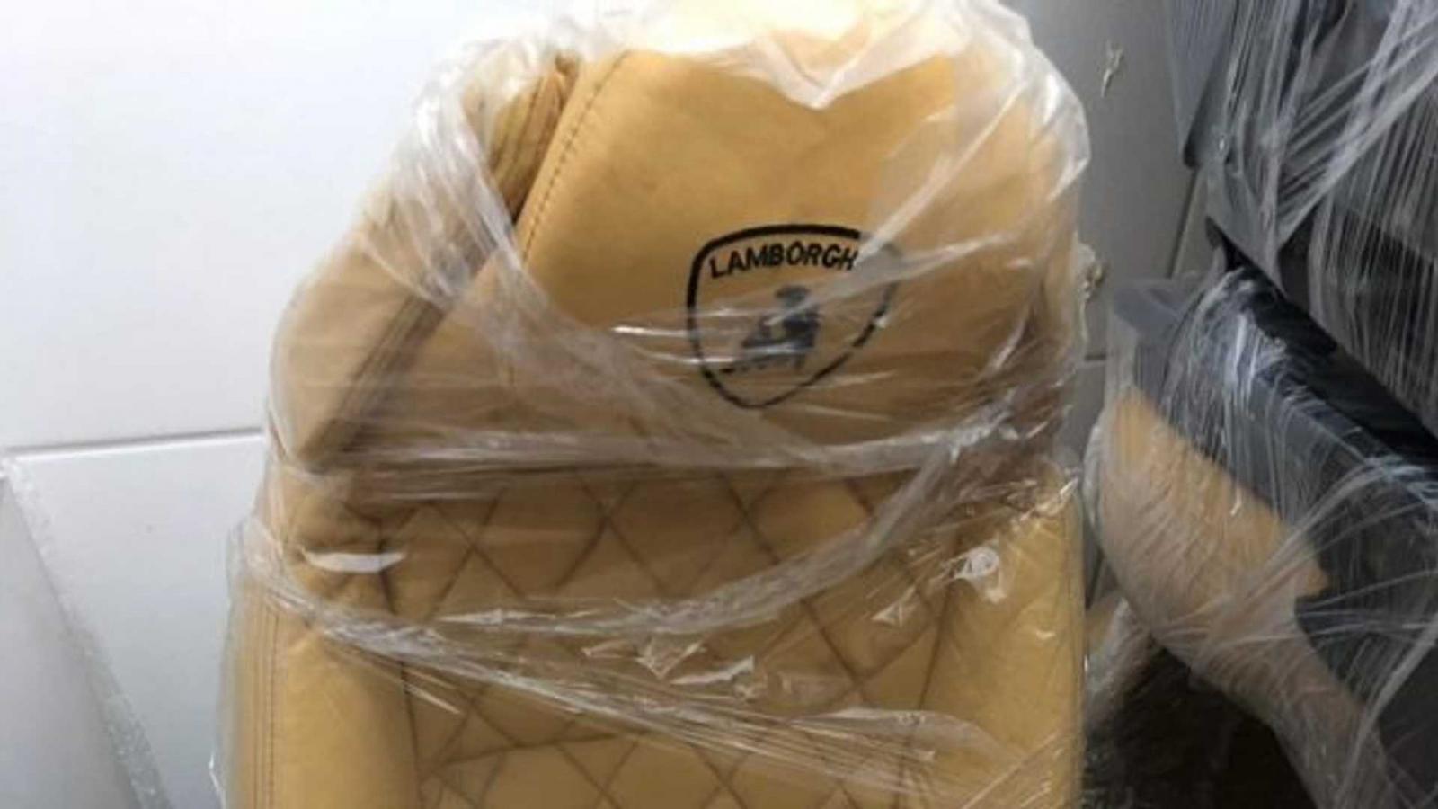 Đây là ghế dành cho xe Lamborghini giả