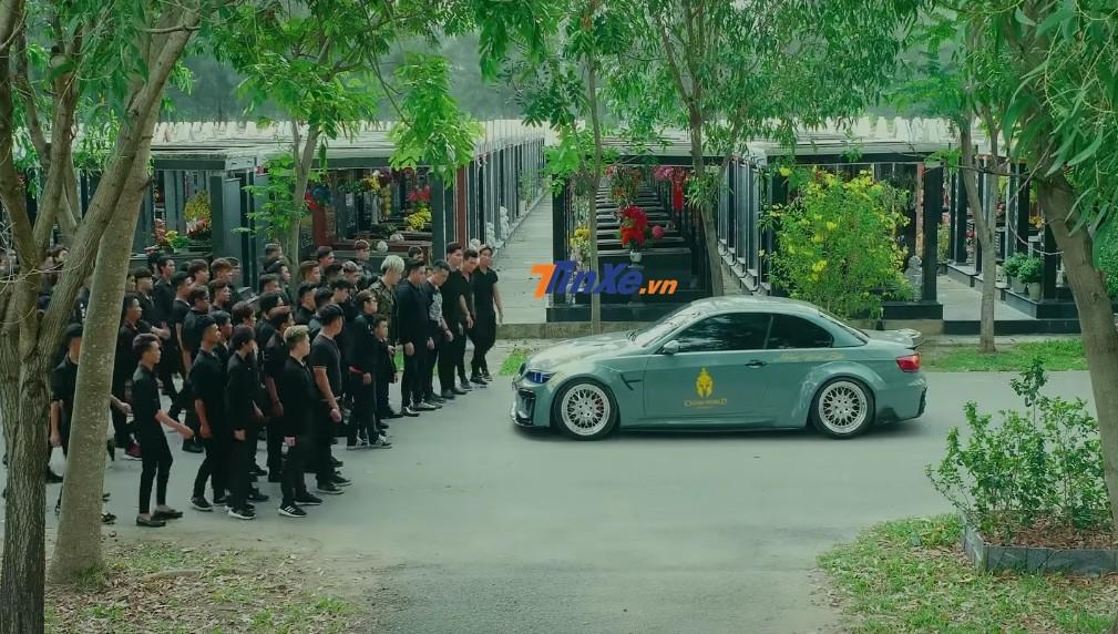 BMW độ thân rộng rất cá tính