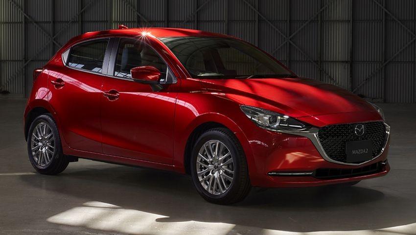Mazda2 2019 với thiết kế đầu xe theo phong cách Mazda6 2018
