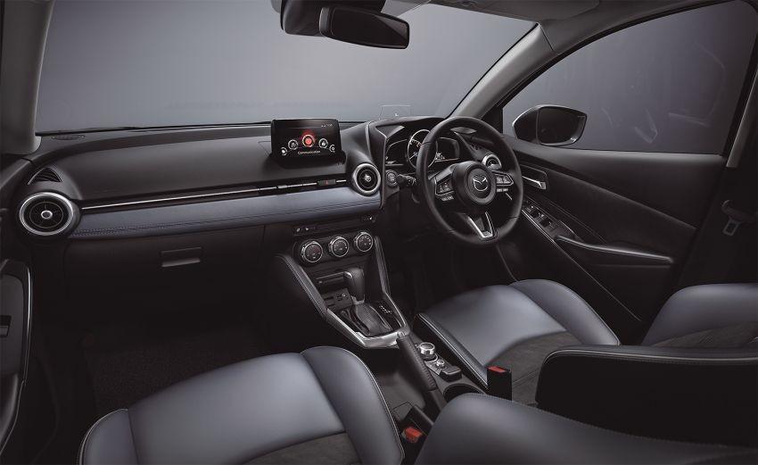 Nội thất bên trong Mazda2 2019 tại Nhật Bản