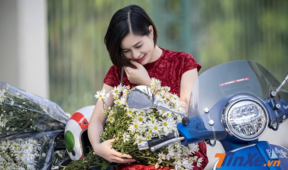 Lãng mạn đầu đông cùng người đẹp Hà thành, cúc họa my và Vespa - 12