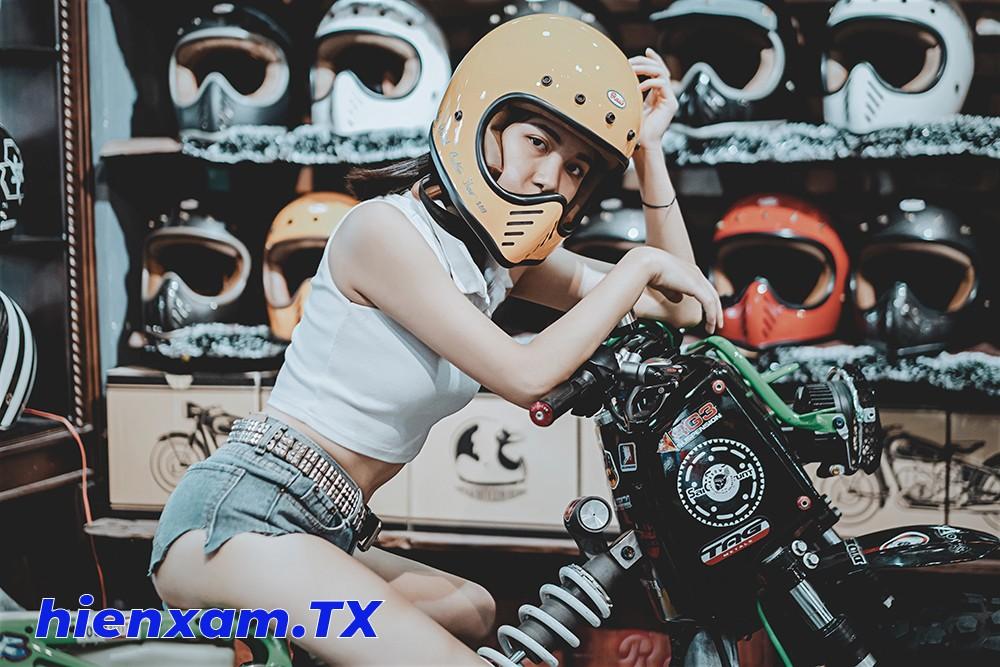 Cô nàng cá tính bên Honda Zoomer độ trục cơ sở kéo dài - 14