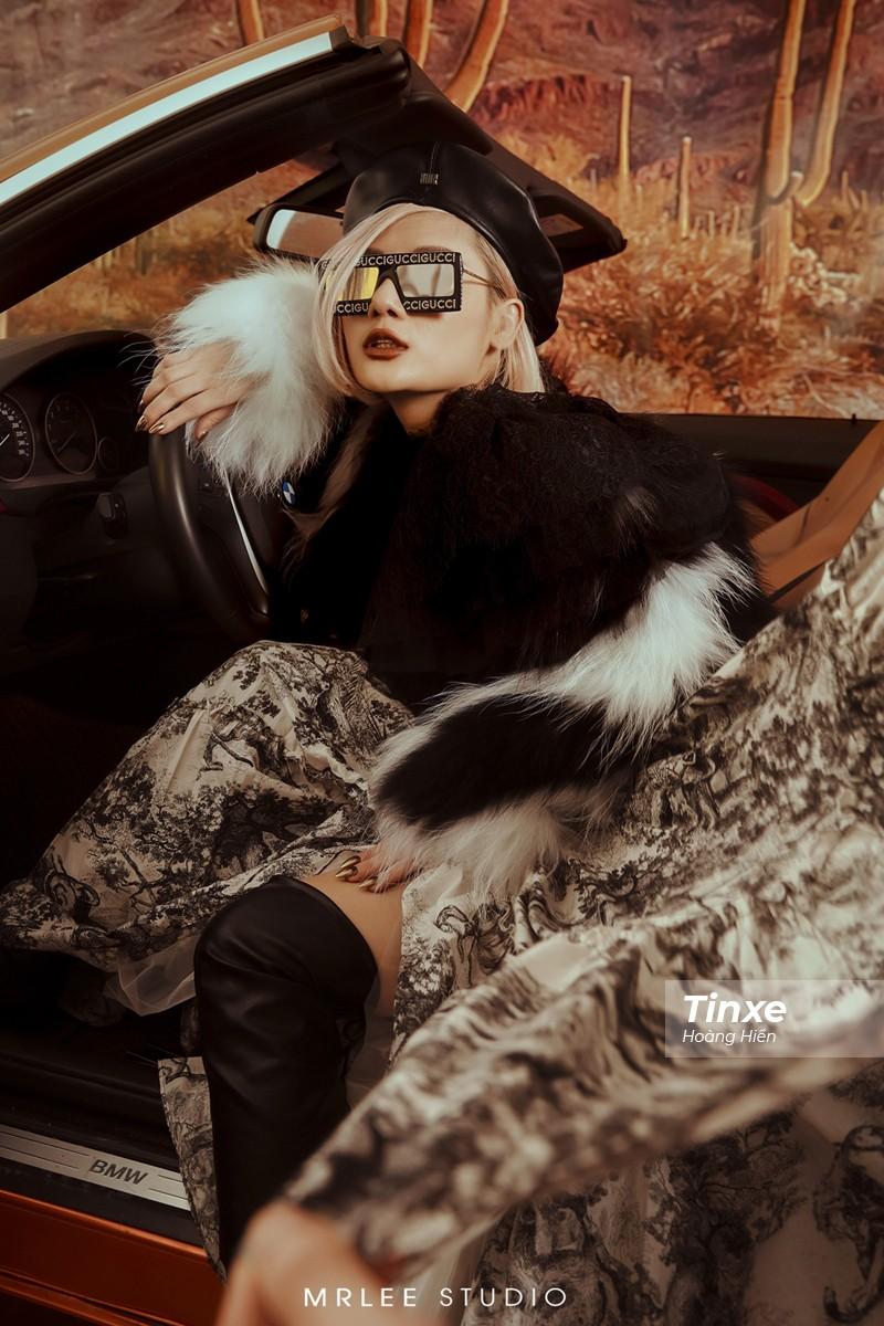 """Linh Remy khoe vẻ đẹp cá tính và cực """"Tây"""" bên chiếc BMW mui trần - 16"""