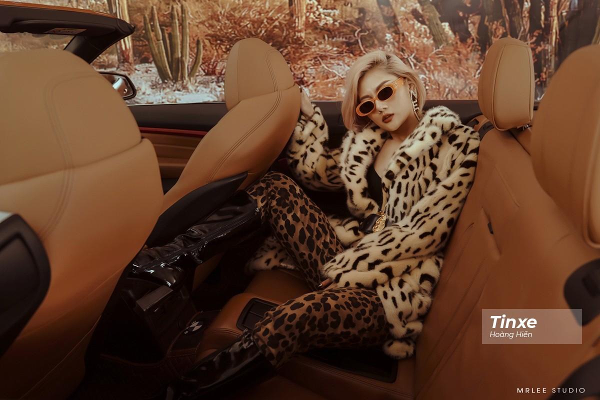 """Linh Remy khoe vẻ đẹp cá tính và cực """"Tây"""" bên chiếc BMW mui trần - 20"""