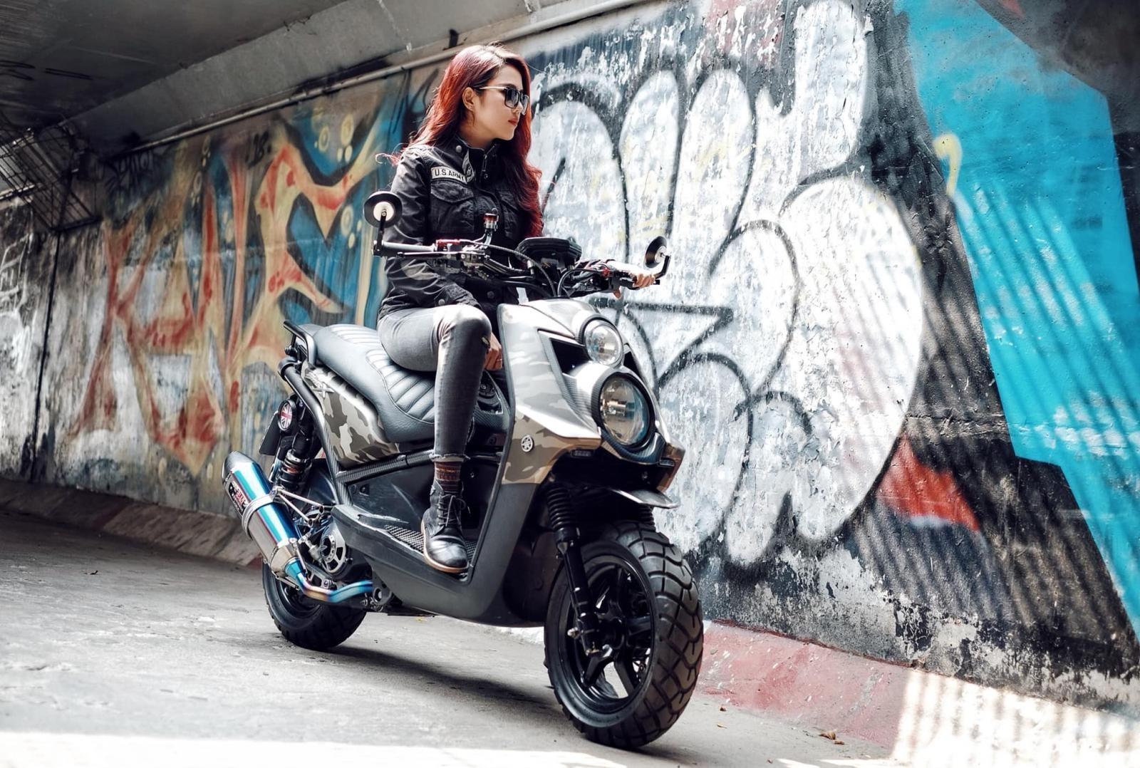 Cô nàng cá tính và Yamaha BW's độ lạ: Bộ đôi hoàn hảo - 3