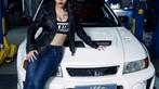 Nóng mắt với người đẹp Trương Hủ Phi bên chiếc Mitsubishi EVO V - 1