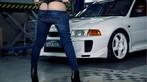 Nóng mắt với người đẹp Trương Hủ Phi bên chiếc Mitsubishi EVO V - 7