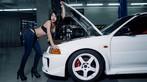 Nóng mắt với người đẹp Trương Hủ Phi bên chiếc Mitsubishi EVO V - 9