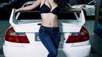 Nóng mắt với người đẹp Trương Hủ Phi bên chiếc Mitsubishi EVO V - 12